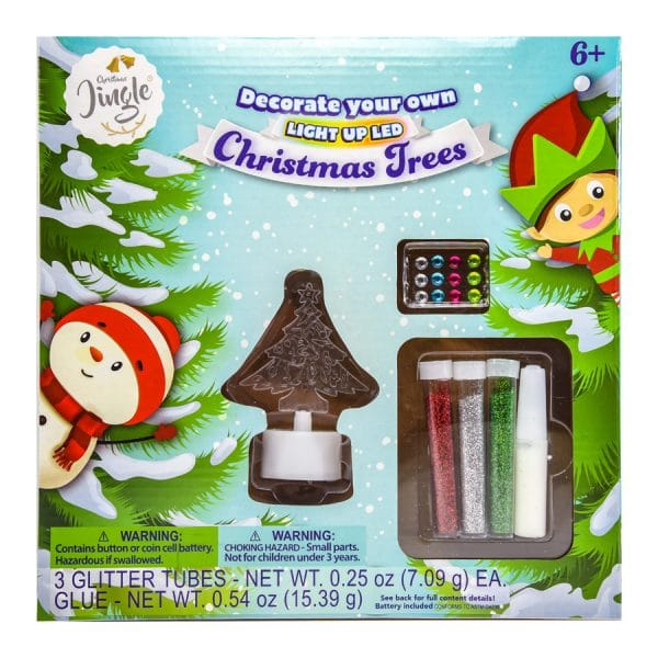 Decorate your own Light Up LED Christmas Tree