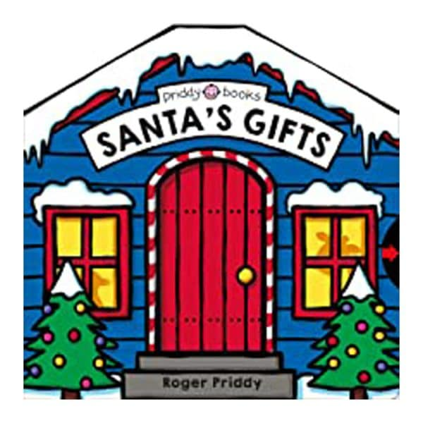 Santa's Gifts: A Christmas Search-and-Find Board book