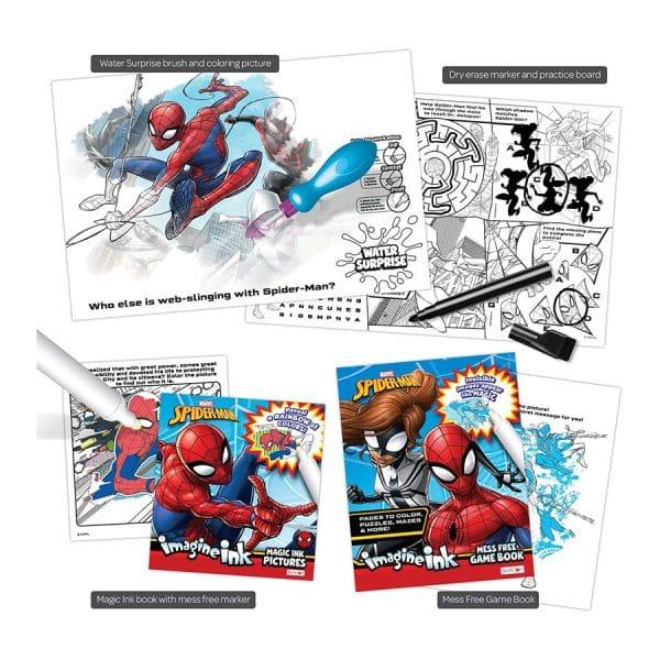 Spider-Man Imagine Ink 4-in-1 Activity Set