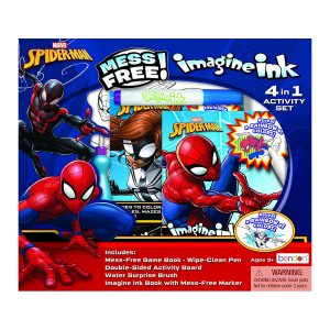 Spider-Man Imagine Ink 4-in-1 Activity Set