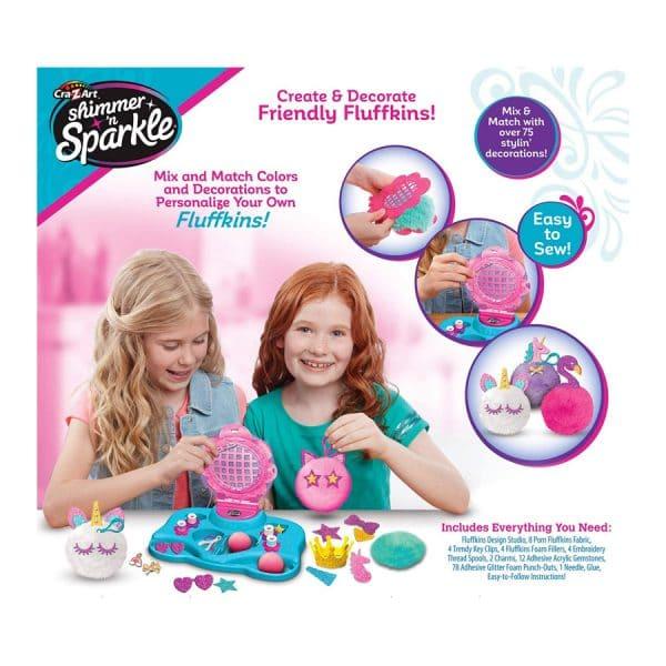 Shimmer n Sparkle Make Your Own Fluffkins Design Studio