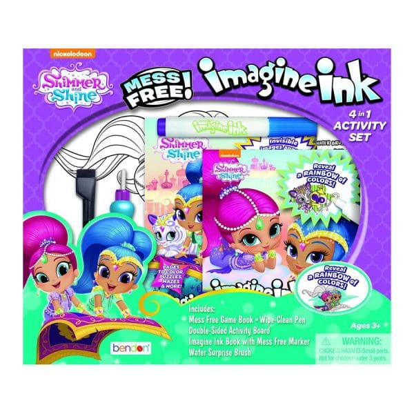 Shimmer and Shine Imagine Ink 4-in-1 Activity Set