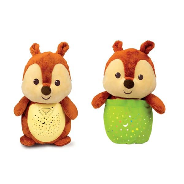 Starry Lights Squirrel 2-in-1