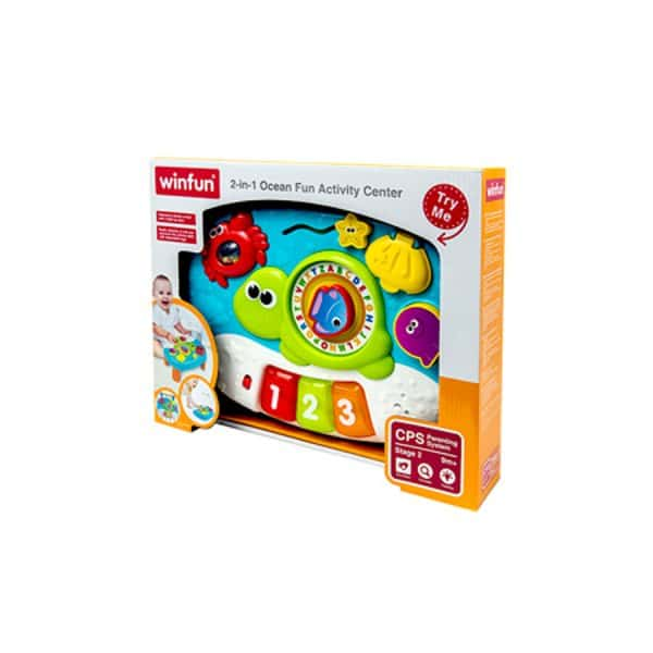 Ocean Fun Activity Center 2-in-1