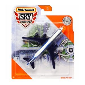 Matchbox Sky Busters: Boeing 747-400