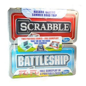 Hasbro Gaming Road Trip Series Set: Scrabble and Battleship