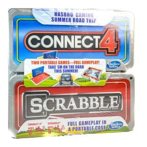 Hasbro Gaming Road Trip Series Set: Connect 4 and Scrabble
