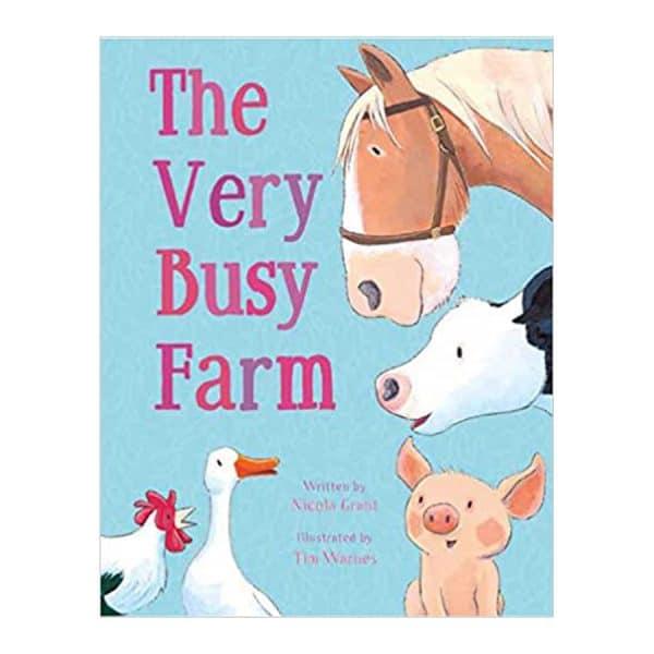 The Very Busy Farm Board book