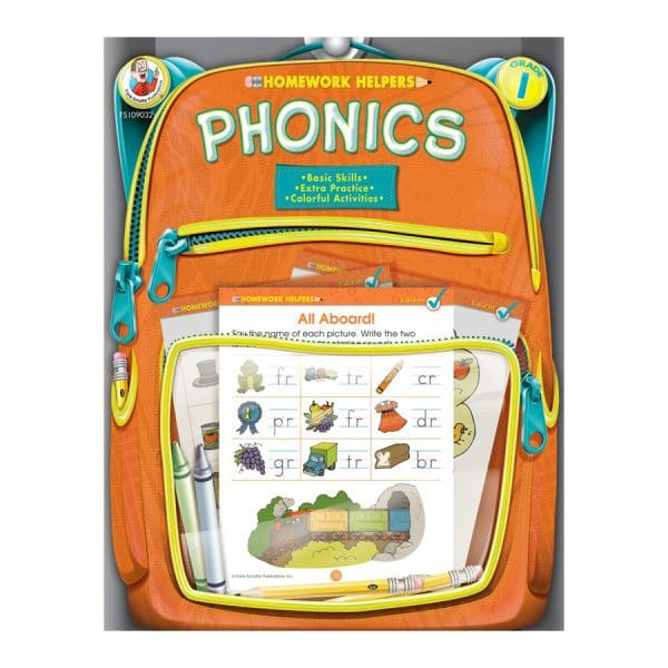 Homework Helpers Phonics Grade 1
