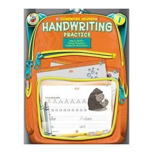 Homework Helpers Handwriting Practice Grade 1