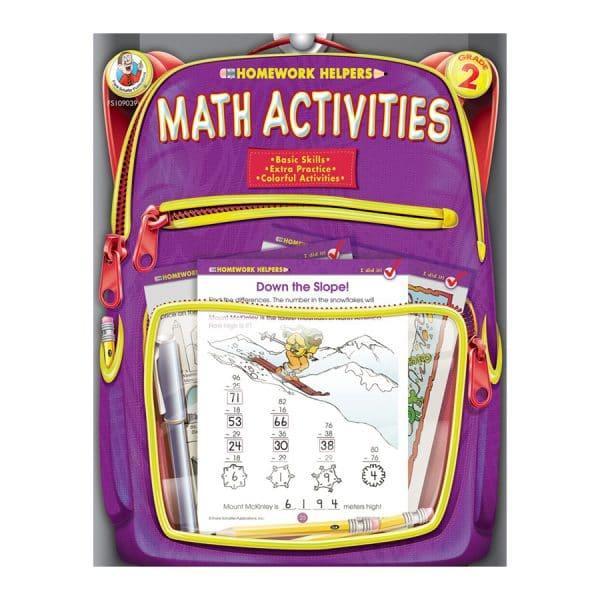 Homework Helpers Math Activities Grade 2