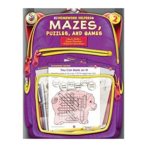 Homework Helpers Mazes Puzzles and Games Grade 2