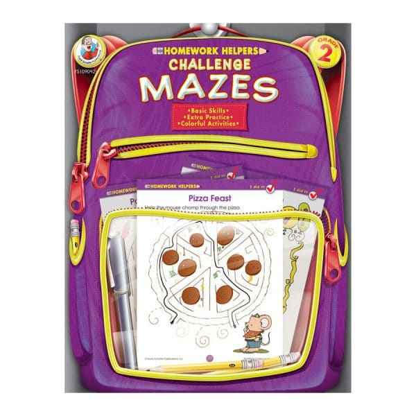 Homework Helpers Mazes Grade 2