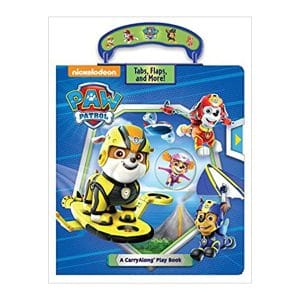 PAW Patrol: A CarryAlong Play Book Hardcover