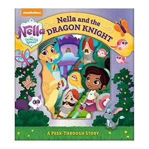 Nella the Princess Knight: Nella and the Dragon Night, A Peek-Through Story Board book
