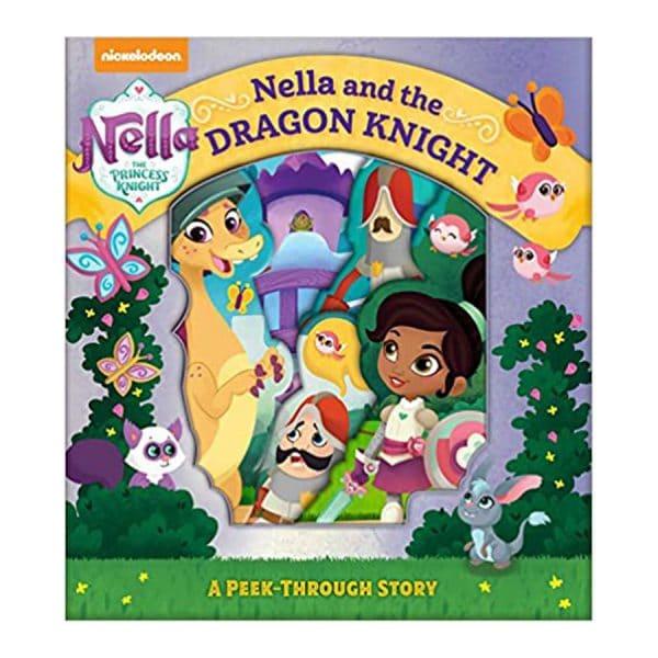 Nella the Princess Knight: Nella and the Dragon Night, A Peek-Through Story Board book