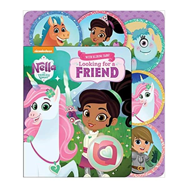 Nella the Princess Knight: Looking for a Friend: Sliding Tab Board book