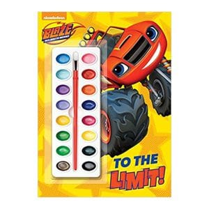Blaze and the Monster Machines: To the Limit! Paperback Paint Box Book
