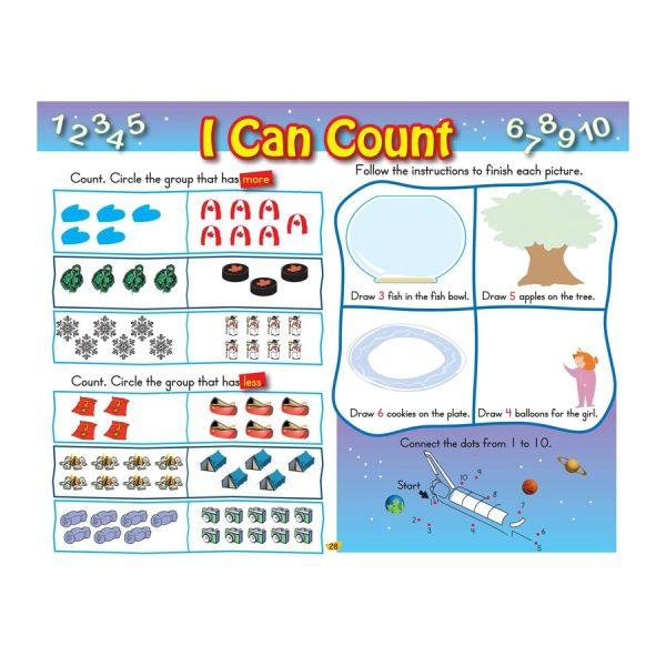 Kindergarten Workbook Floorpad Canadian Curriculum Paperback