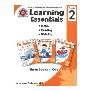 Learning Essentials (Grade 2) Canadian Curriculum Paperback