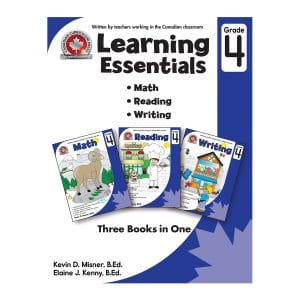 Learning Essentials (Grade 4) Canadian Curriculum Paperback