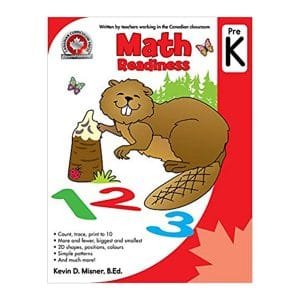 Math Readiness (Pre Kindergarten) Canadian Curriculum Paperback