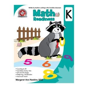 Math Readiness (Kindergarten) Canadian Curriculum Paperback