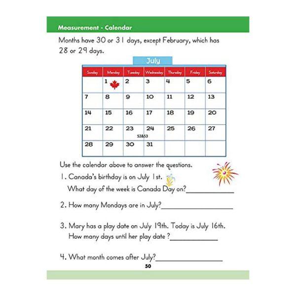 Math (Grade 1) Canadian Curriculum Paperback