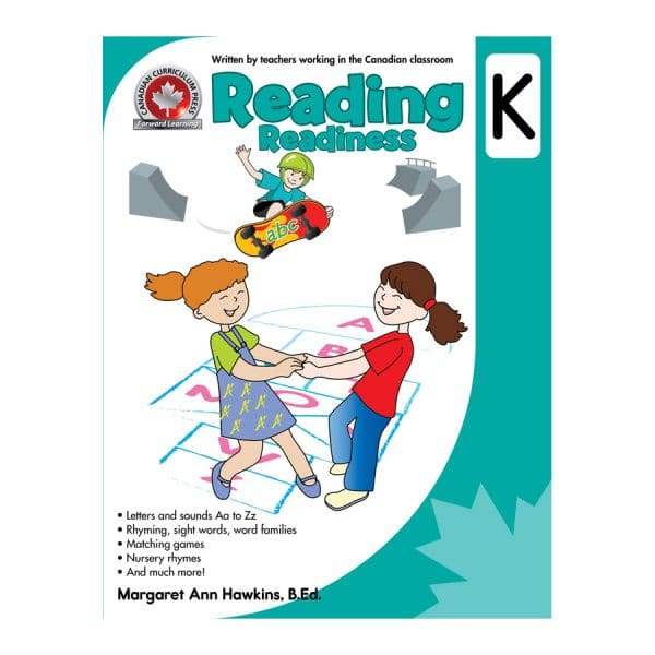 Reading Readiness (Kindergarten) Canadian Curriculum Paperback