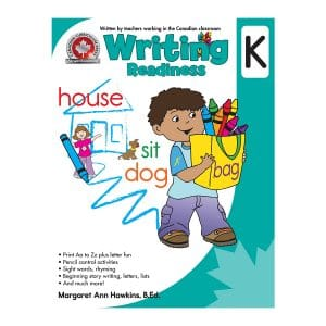 Writing Readiness (Kindergarten) Canadian Curriculum Paperback