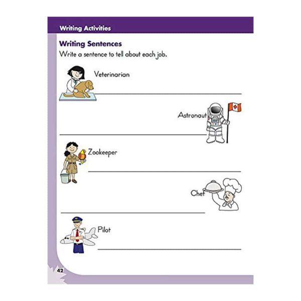 Writing (Grade 1) Canadian Curriculum Paperback