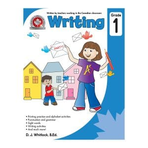 Writing (Grade 1) Canadian Curriculum Paperback