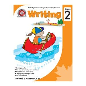 Writing (Grade 2) Canadian Curriculum Paperback