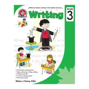 Writing (Grade 3) Canadian Curriculum Paperback