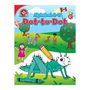 Alphabet A-Z Dot-to-Dot Canadian Curriculum Paperback