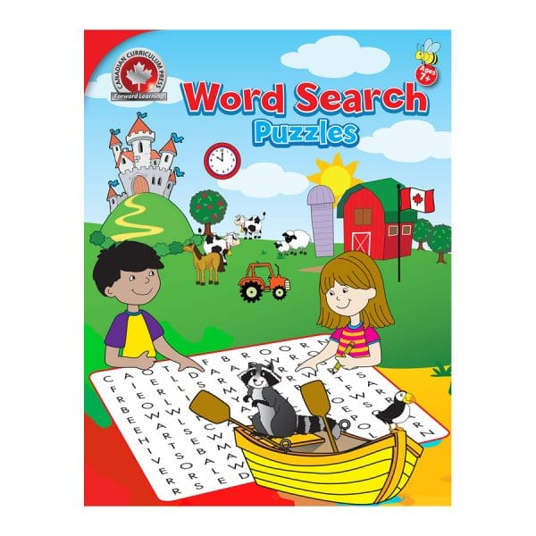 Word Search Puzzles Canadian Curriculum Paperback