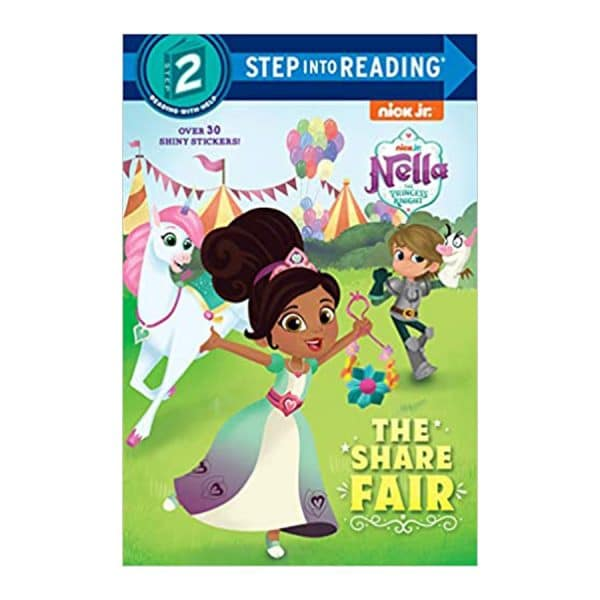 Nella the Princess Knight: The Share Fair, Step Into Reading Level 2, Paperback