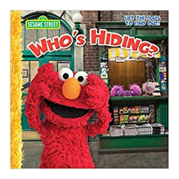 Sesame Street Who's Hiding? Paperback