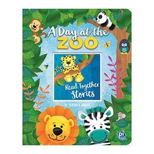 A Day at the Zoo Board Book