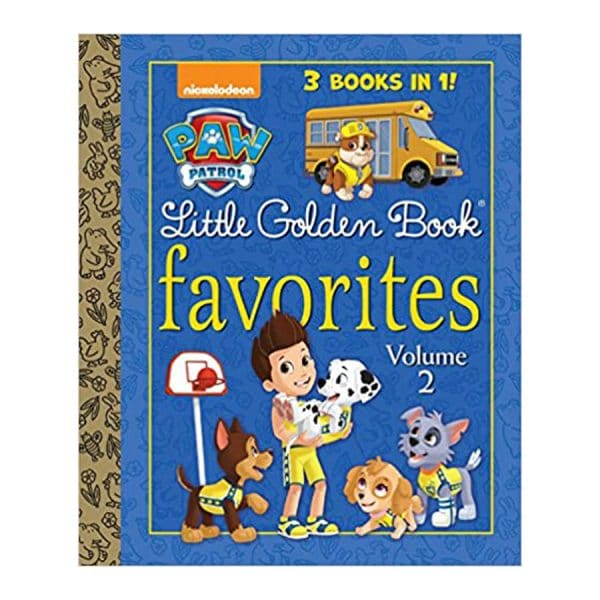 PAW Patrol Little Golden Book Favorites, Volume 2, Hardcover