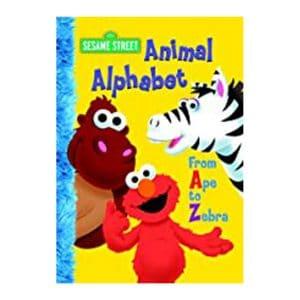 Sesame Street Animal Alphabet Board Book