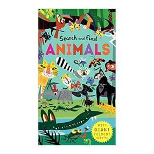 Search and Find: Animals Hardcover