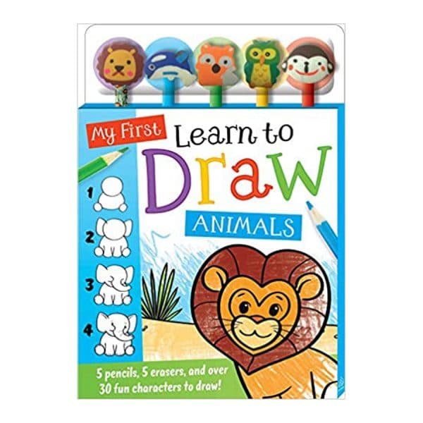 My First Learn to Draw: Animals Paperback