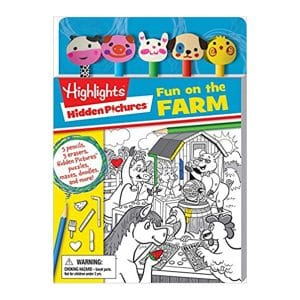 Highlights: Hidden Pictures: Fun on the Farm Paperback
