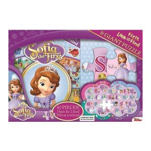 Sofia the First My First Look & Find Book and Giant Puzzle