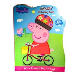 Peppa Pig: Giant Coloring Book