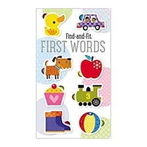 First Words Find and Fit Board book