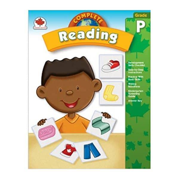 Canadian Complete Reading Preschool Workbook