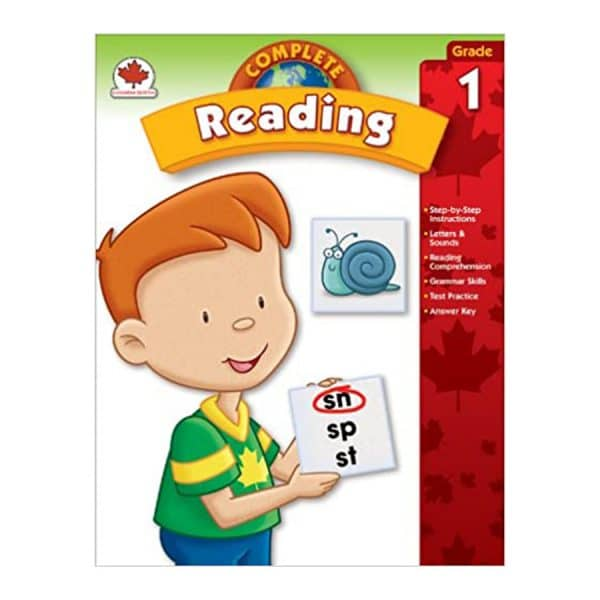 Canadian Complete Reading Grade 1 Workbook