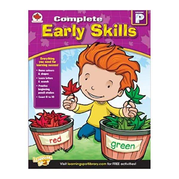 Canadian Complete Early Skills Preschool Workbook